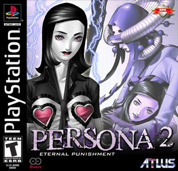 Persona 2 - Eternal Punishment [NTSC-U] Front Cover